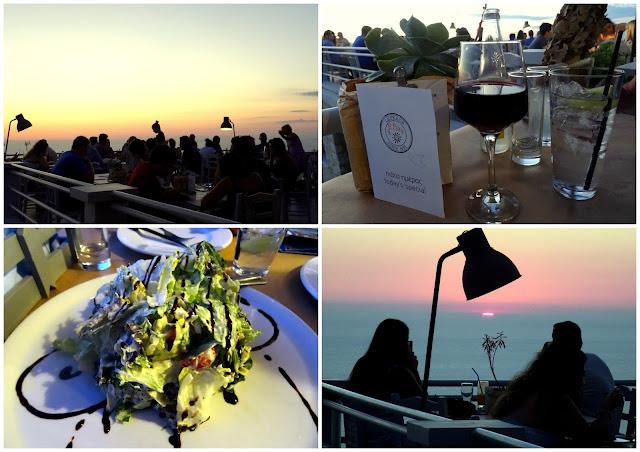 Wines Salad starter - Rachi Taverna Lefkada