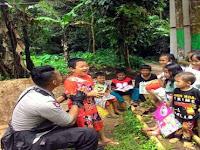 Brigadir Rama, Kisah Inspiratif Polisi Yang Rela Mengajar Anak-anak Di Lereng Gunung Sunda