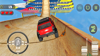 Mega Ramp Jeep Stunt - Beach Water Racing - APK Download | Car Wala Game | Gadi Wala Game
