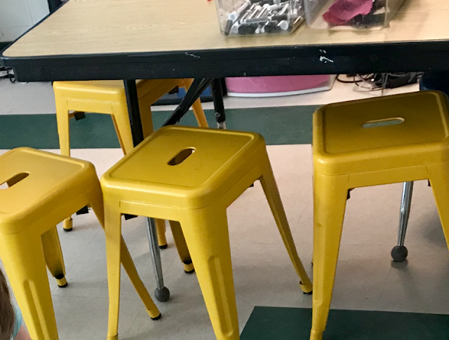 """sturdy 18"""" stools for classroom"""