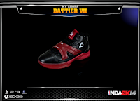NBA 2K14 Peak Shane Battier Signature