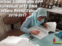 Download Silabus dan RPP Kurikulum 2013 SMA Terbaru Revisi Tahun 2016-2017