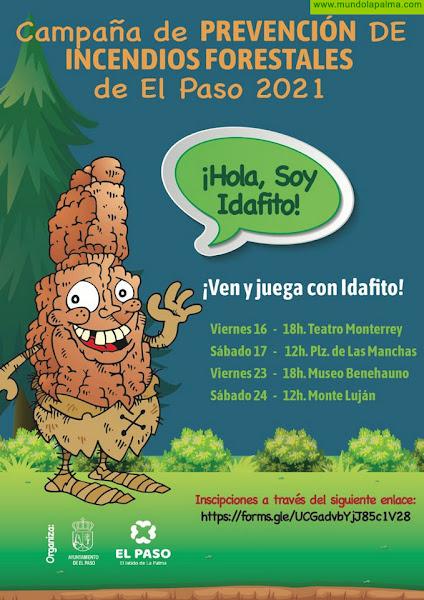 """El Paso presenta a """"Idafito"""", un icono natural que unirá a los mas pequeños con la conciencia medioambiental"""