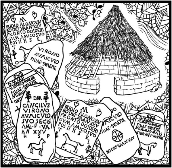 RAIGAÑU ( Asociación de Cultura Tradicional Leonesa): LEÓN PARA COLOREAR