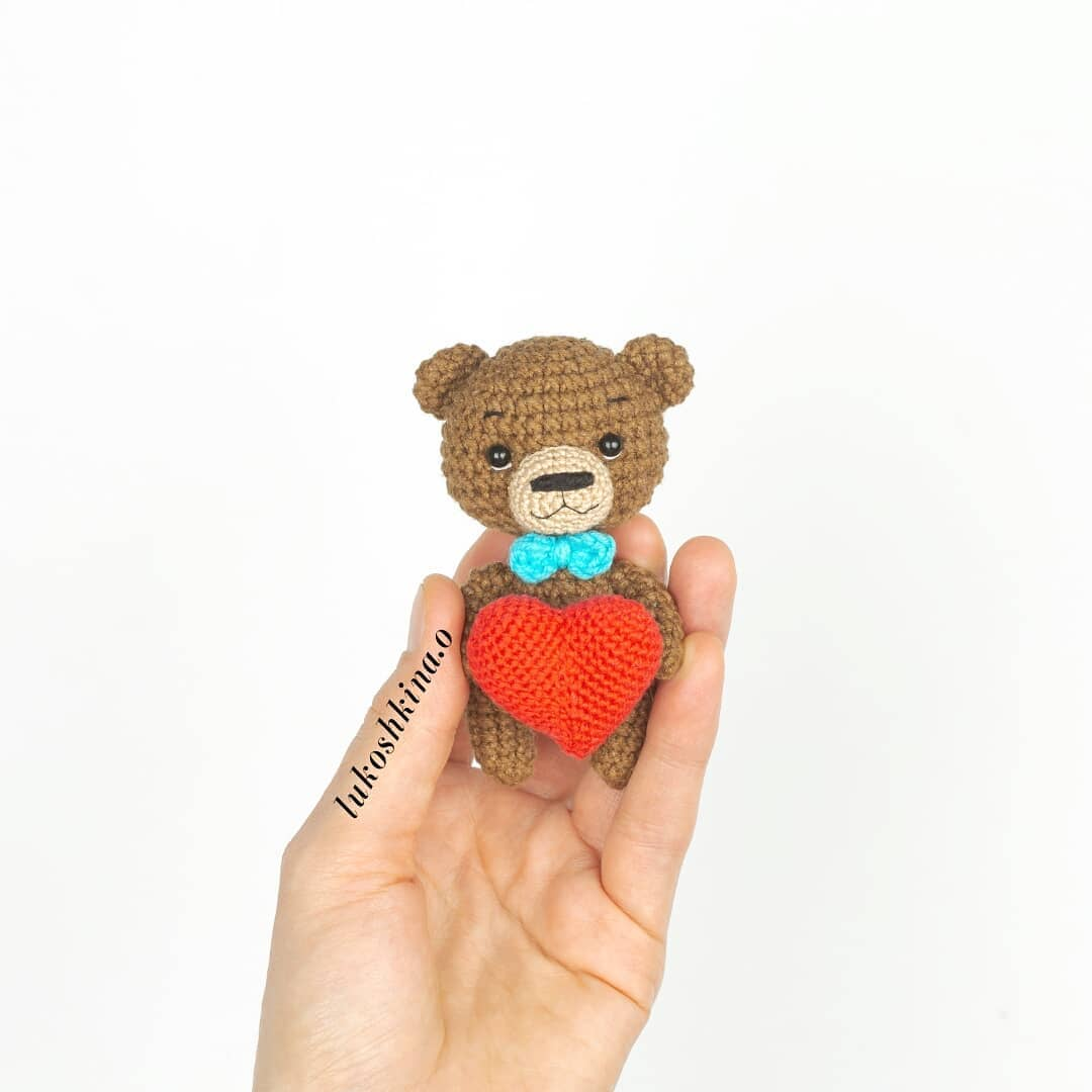 Amigurumi little bear pattern