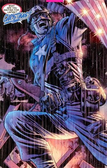 El Capitán América luchó en la Segunda Guerra Mundial