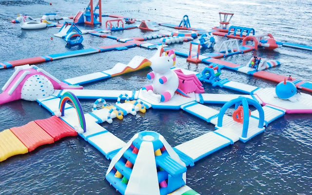 Inflatable Island in Subic