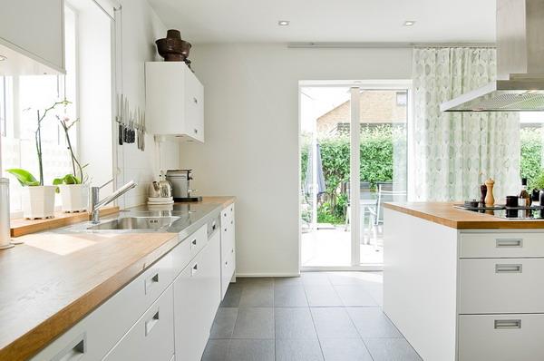 Modern White kitchen furniture 2