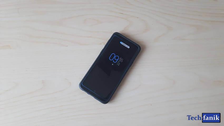 Samsung Galaxy S9+ Podświetlenie krawędziowe