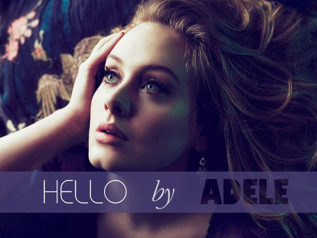 Hello by Adele Album Cover Fan made