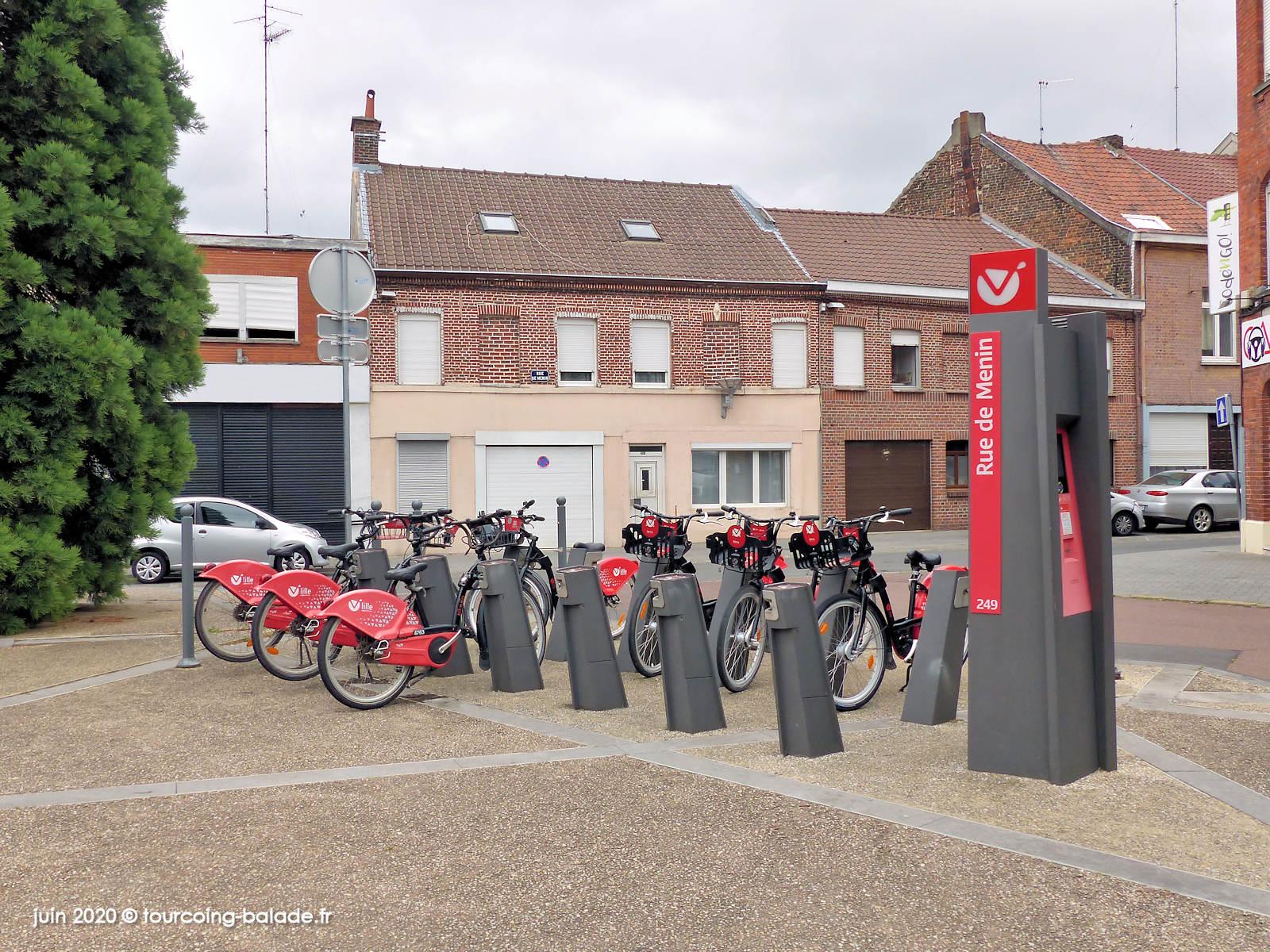 Station V'Lille Rue de Menin, Tourcoing 2020