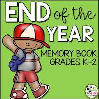 End of Year Memory Book K-2