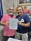 O pré-candidato a prefeito de Macau Elcy, desiste de sua candidatura para apoiar Gilmar Cruz
