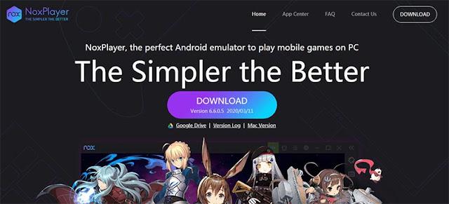 الموقع الرسمي لتحميل برنامج Nox app player محاكي الاندرويد للكمبيوتر