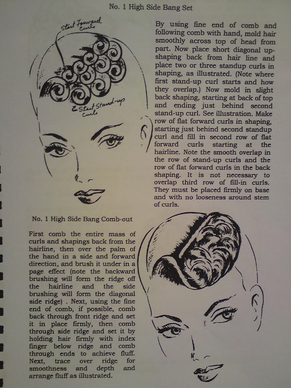 Pin Curl Diagram 2001 Dodge Caravan Starter Wiring Up Life Hair Setting And Pincurls
