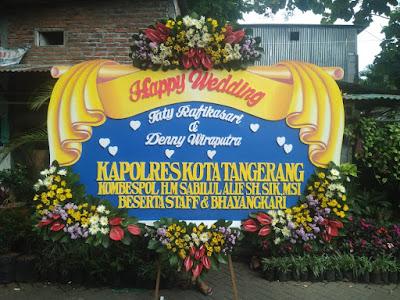 Karangan Bunga Pernikahan Sidoarjo 1