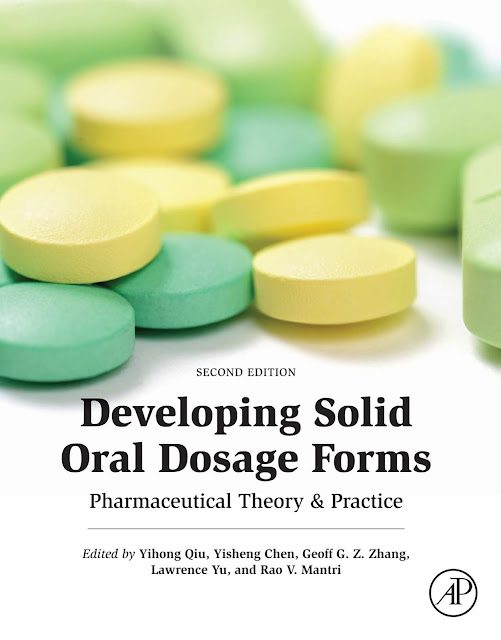 Developing Solid Oral Dosage Forms- Pharmaceutical Theory and Practice pdf