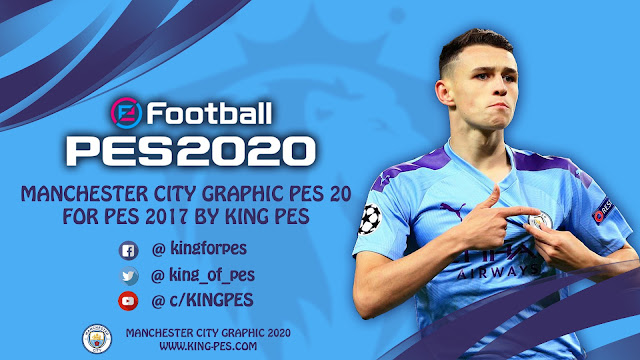 PES 2020 Manchester City Graphic For PES 2017 By KING-PES