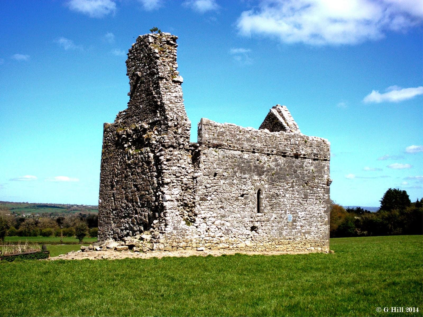 Ireland In Ruins Ballylarkin Abbey Co Kilkenny