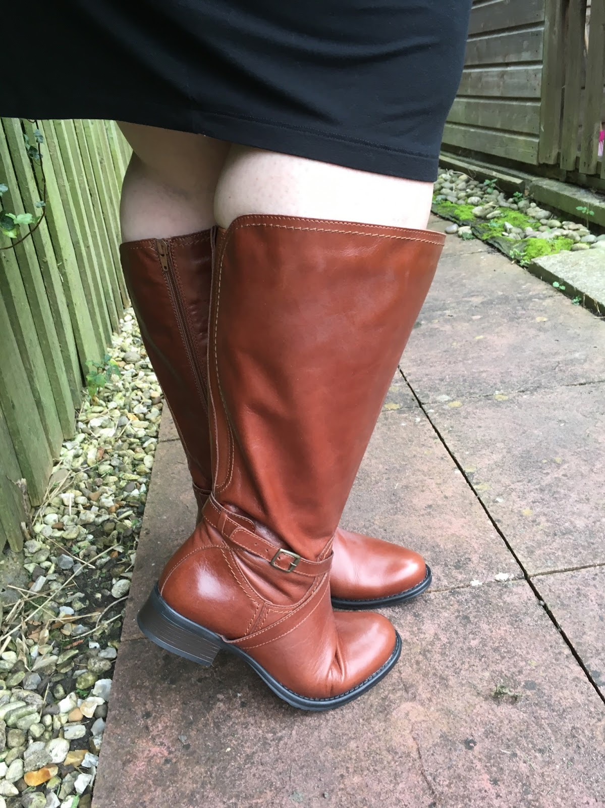 4128e1a3b35 Style  Wide Calf Boots made easy! - Becky Barnes Blog