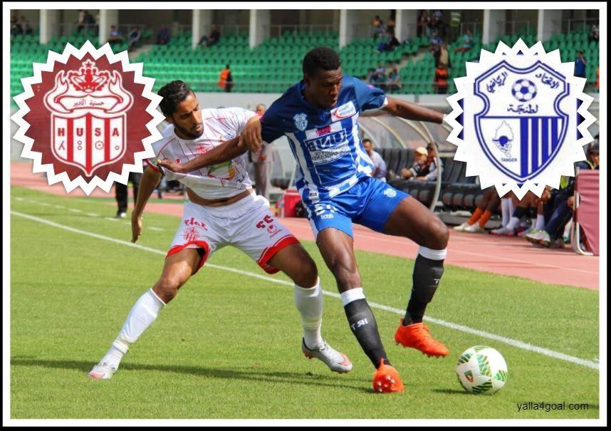 مباراة إتحاد طنجة ضد حسنية اكادير في الدوري المغربي