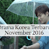 Drama Korea Terbaru Ditayangkan Pada Bulan November