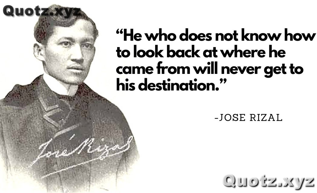 Best 30+ Quotes by Jose Rizal About Youth, Travel, Freedom with quotes images