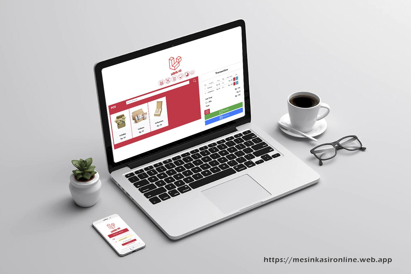 aplikasi toko kasir pejualan online