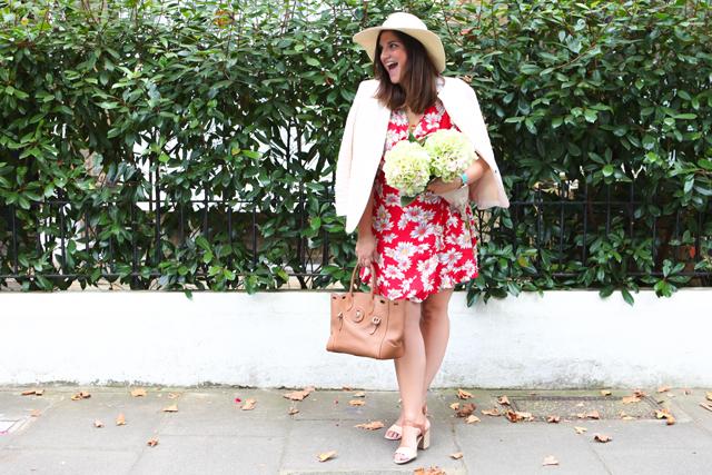 Floral Dress, Emily Johnston, Fashion Foie Gras