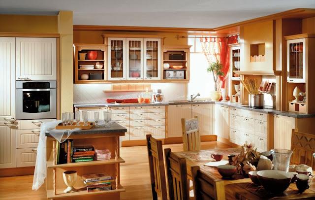 Inspirasi Dapur Tradisional Yang Mewah