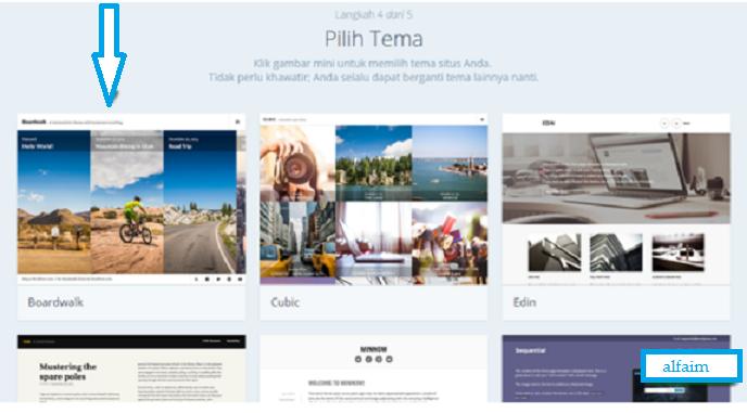 Membuat Blog Gratis Dengan Paltform WordPress Terbaru Lengkap Dengan Gambar