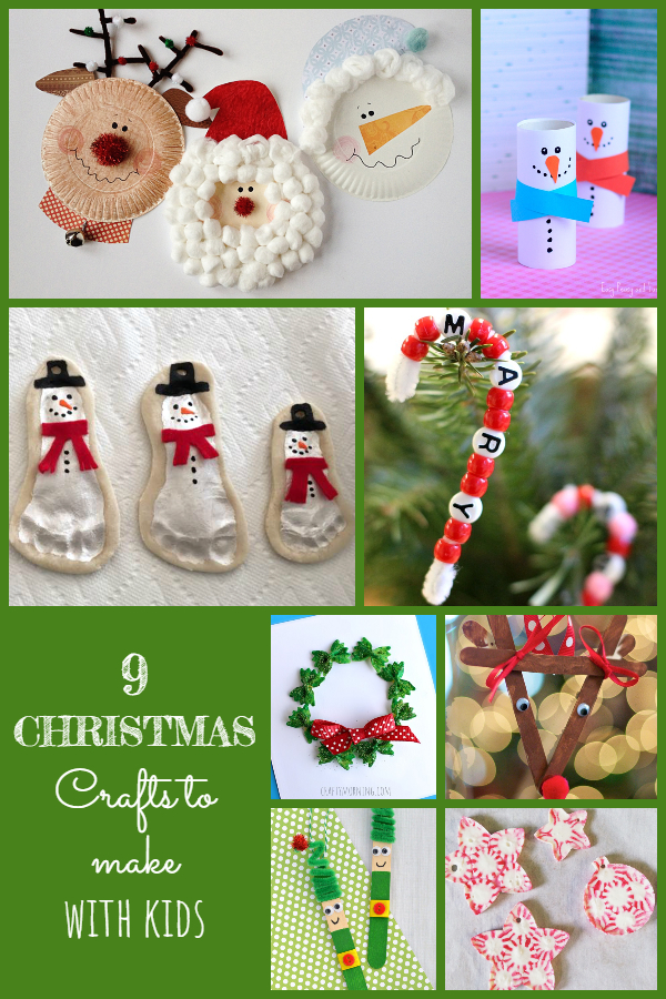 9 Christmas Crafts to Make with Kids - Twelve Days of Christmas Ideas