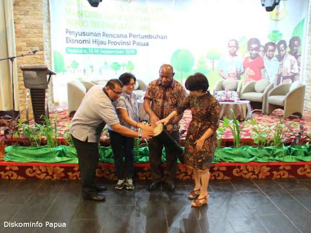 Pemprov Papua Bersama Kabupaten Tumbuhkan Ekonomi Hijau