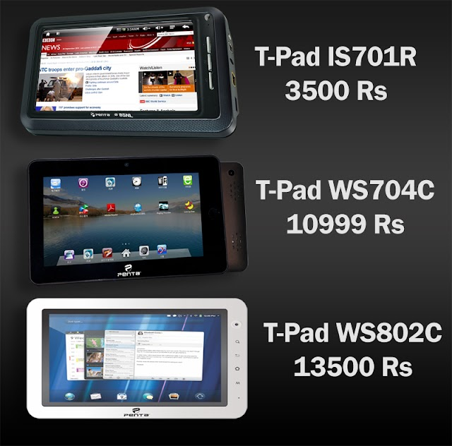 More budget tablets launched in Indian Markets