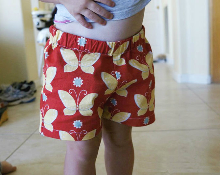 Summer Shorts! Free Pattern and Tutorial