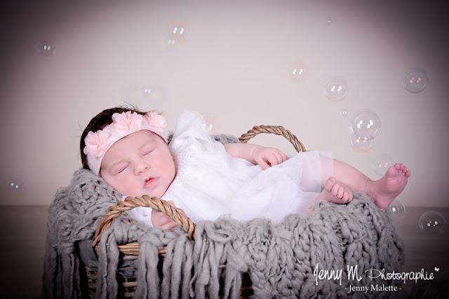 photo bébé bulles de savon