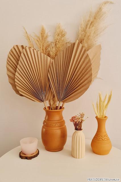 paper palm leaf diy