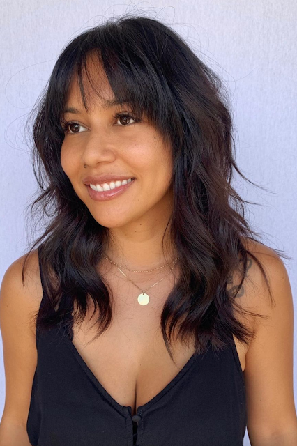 hairstyles with side bangs