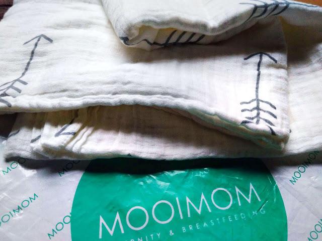 Swaddle Blanket bedong premium Mooimom