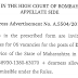 District Judge (06 posts) in the High Court of Bombay - last date 31/05/2019