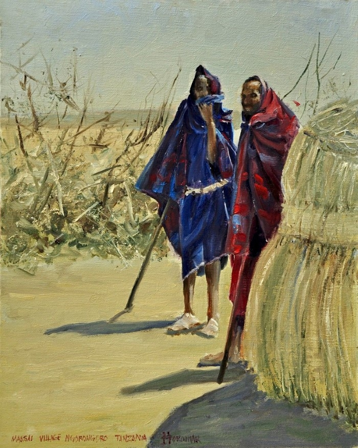 Американо-иранский художник.
