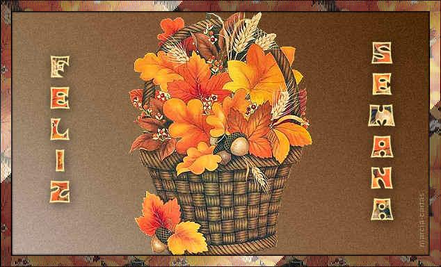 flores y hojas Feliz Semana