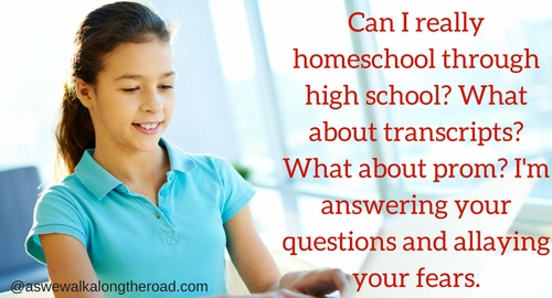 Homeschooling through high school questions