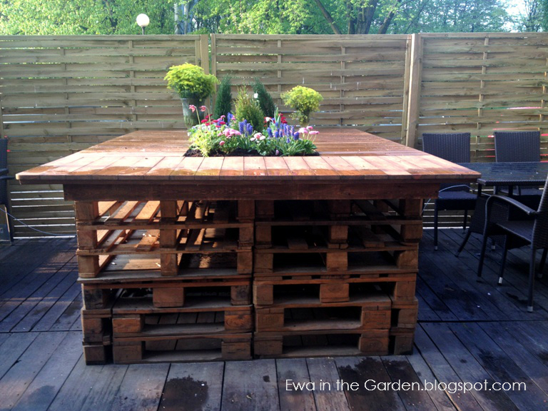 Ewa In The Garden Pallet Garden Ideas Stunning Lil Garden - Pallet-garden-ideas