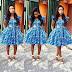 Dabonke Fashion Style Beautiful Ankara Gown