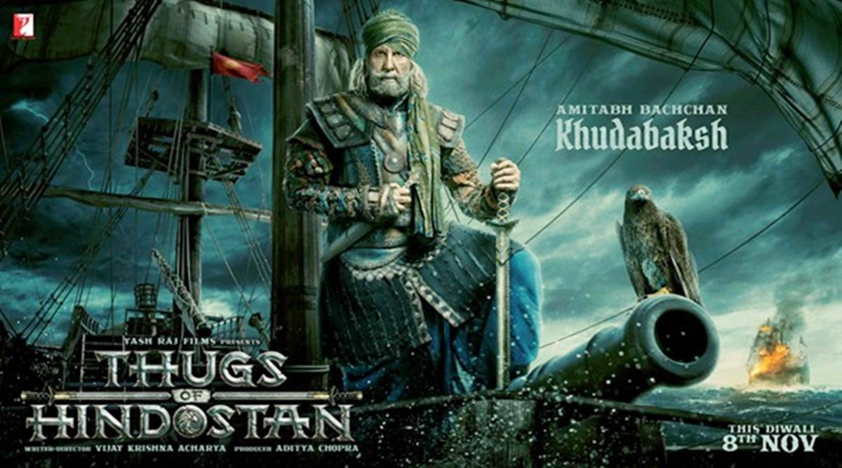 Thugs of Hindustan Full Movie Download- Amitabh Bachchan