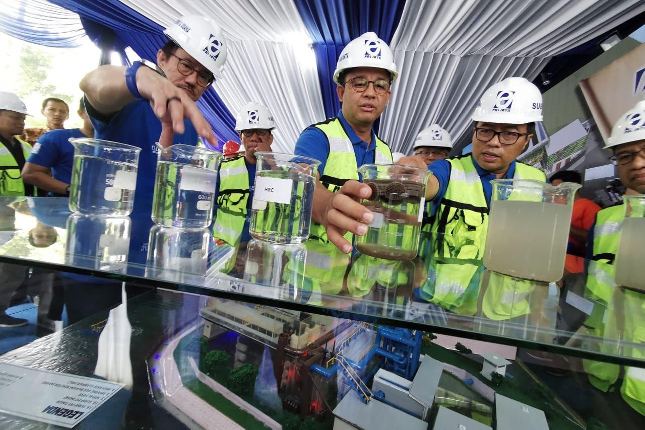 Di Tangan Anies, IPAL Krukut Gunakan Teknologi Tercanggih di Indonesia