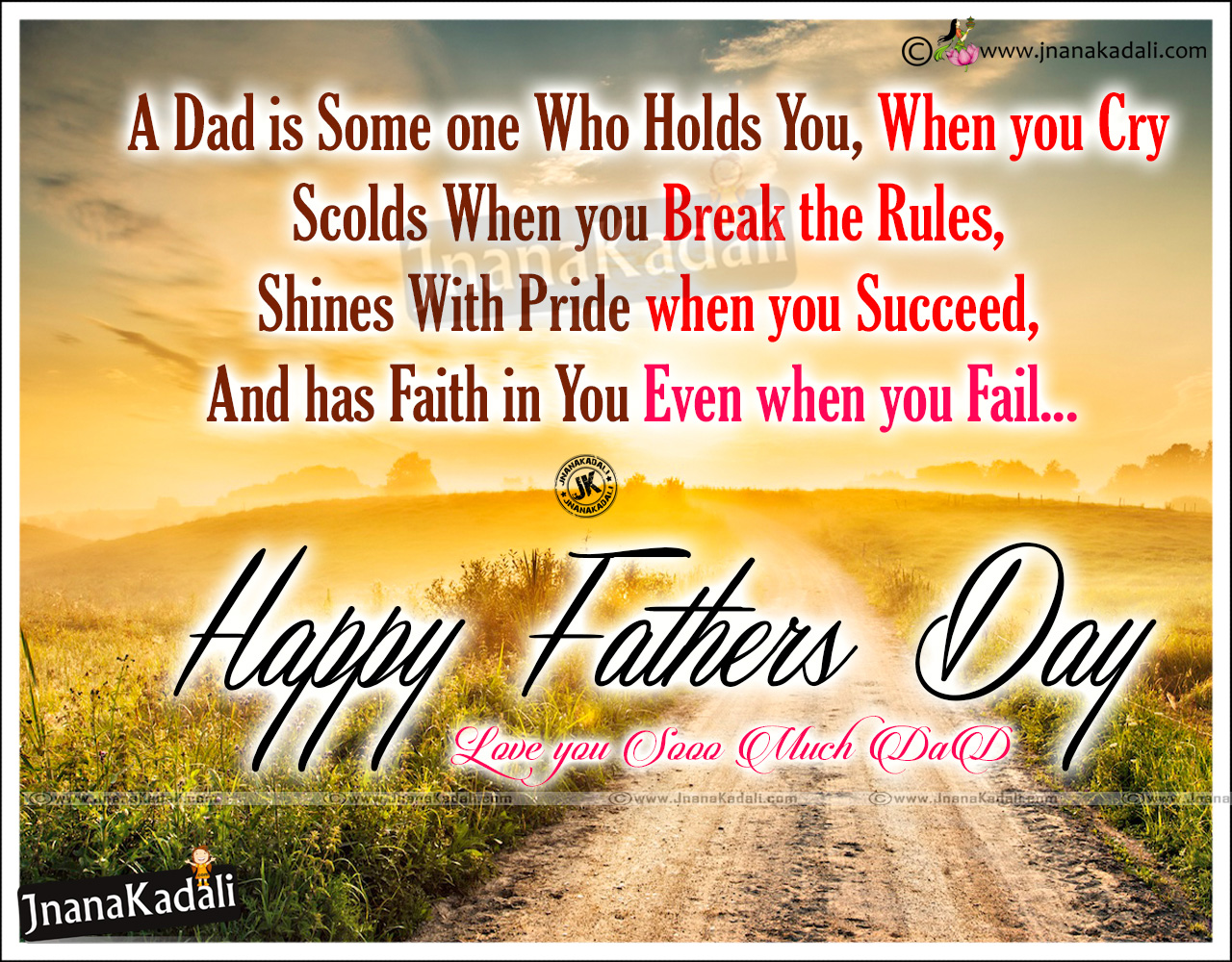 Happy Fathers Day Quotations In English