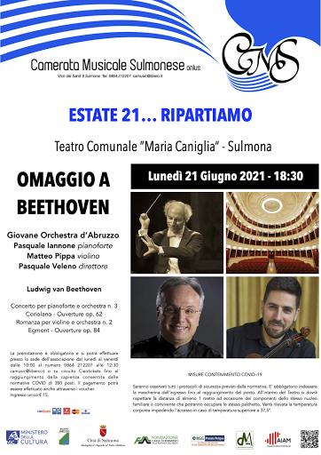 CAMERATA MUSICALE SULMONESE - ESTATE 2021