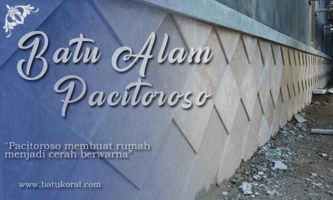 batu pacitoroso untuk dinding